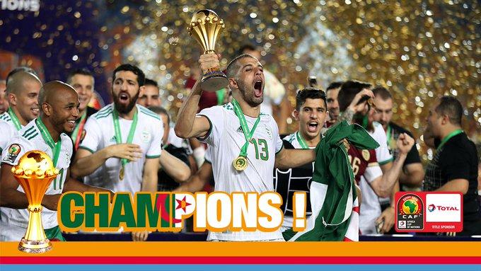 uk cheap sale cheap sale new concept CAN2019: L'Algérie Championne d'Afrique pour la deuxième ...