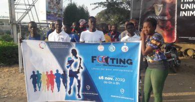 SME-TCHAD: Footing sous le slogan lèves toi pour entreprendre