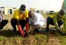 Journée Citoyenne : le lions club met en terre des plans à l'hôpital de Farcha