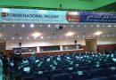 Deuxième forum national inclusif, tout est fin prêt pour la cérémonie d'ouverture.