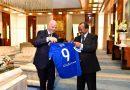 Le patron de la FIFA ému par l'ouverture de la CHAN